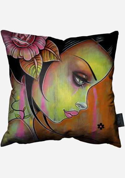 Orange Resolve Pillow