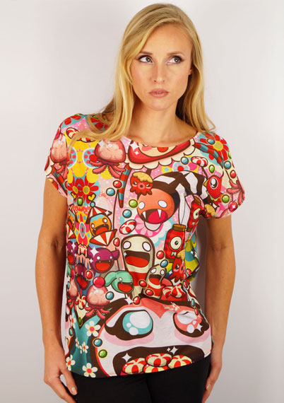 Whimsical World Ladies T-Shirt