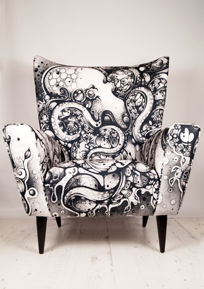 Curious Embrace Wingchair