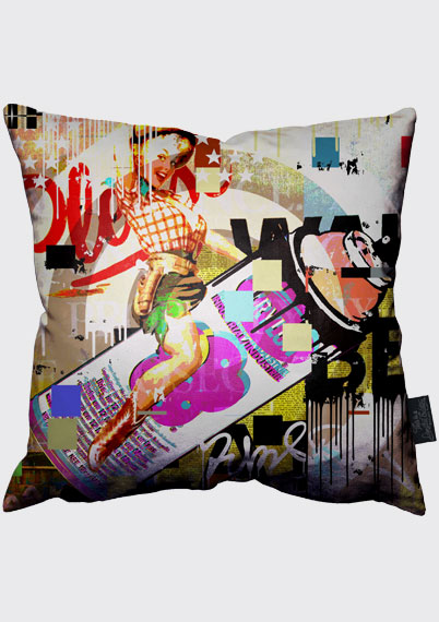 Rodeo Girl Pillow