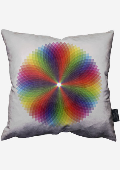 Colour Wheel Pillow