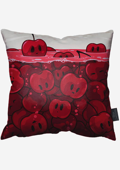 Cherries Pillow