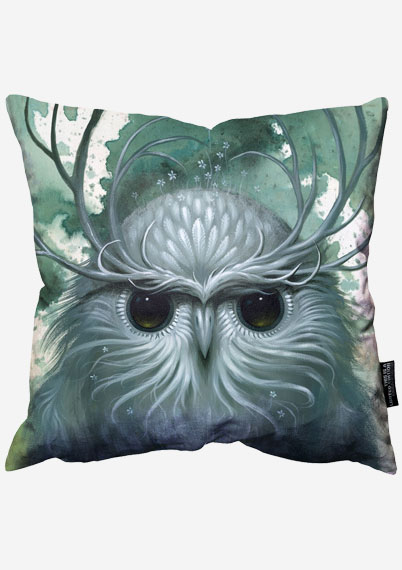 Snow Owl Pillow