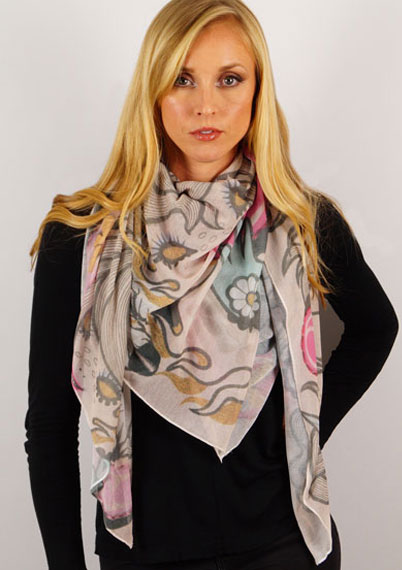 11 Unicorns Winter Scarf