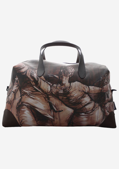 Giorgios Leather Holdall