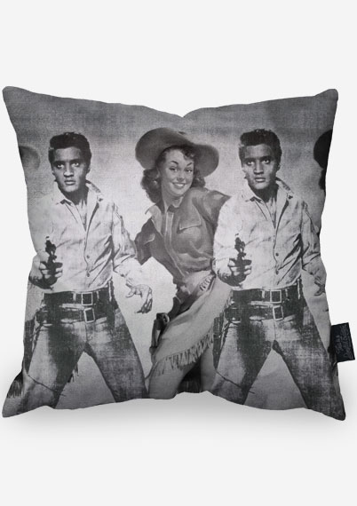 Candy Warhol Pillow