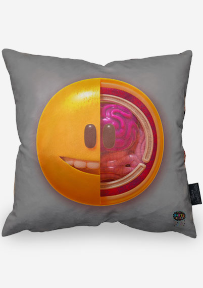Emoji Flesh Pillow