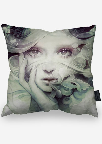 Sepia Spore Pillow