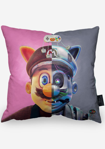 Mario Bot Pillow