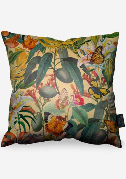 Butterfly Jungle Pillow