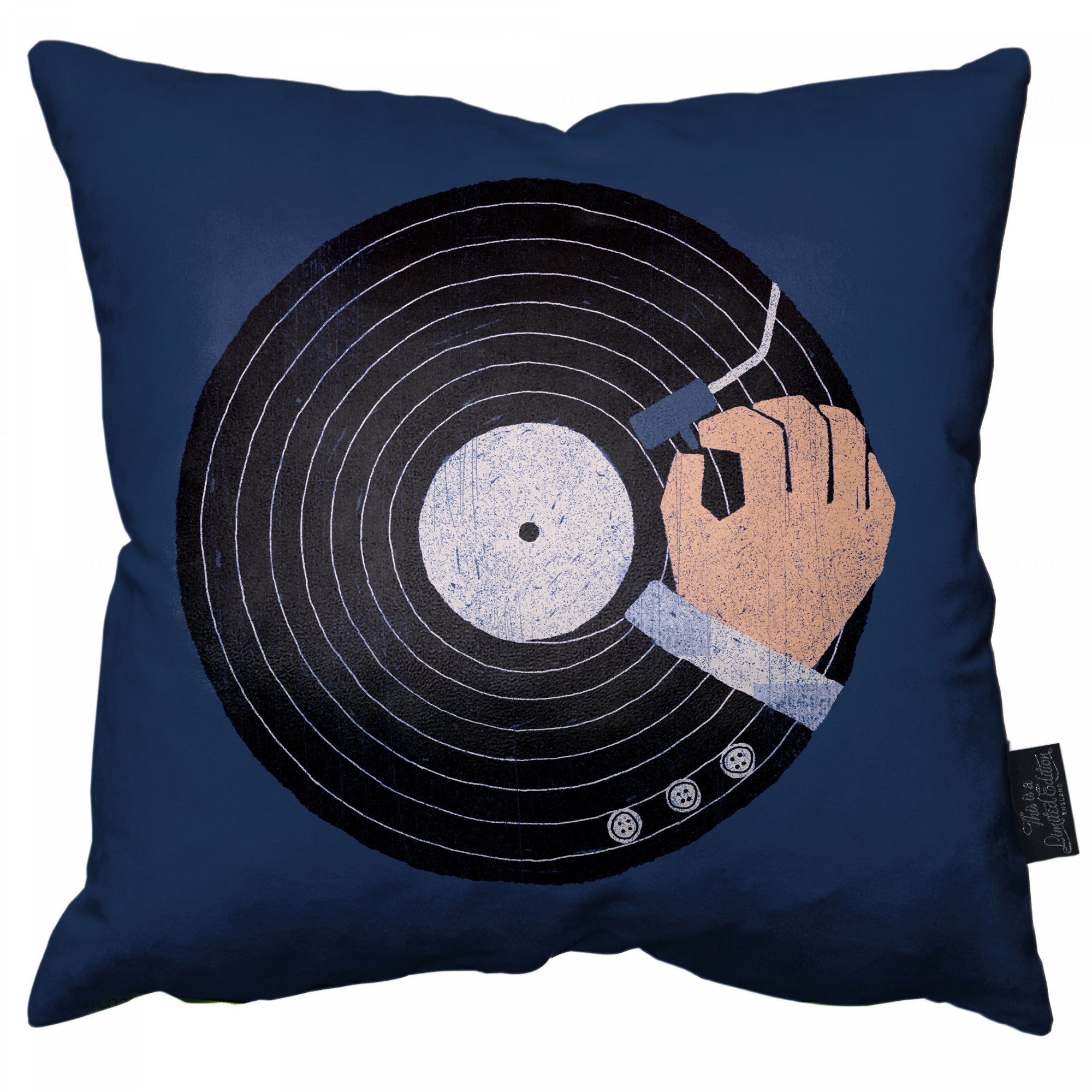 Music Business Pillow