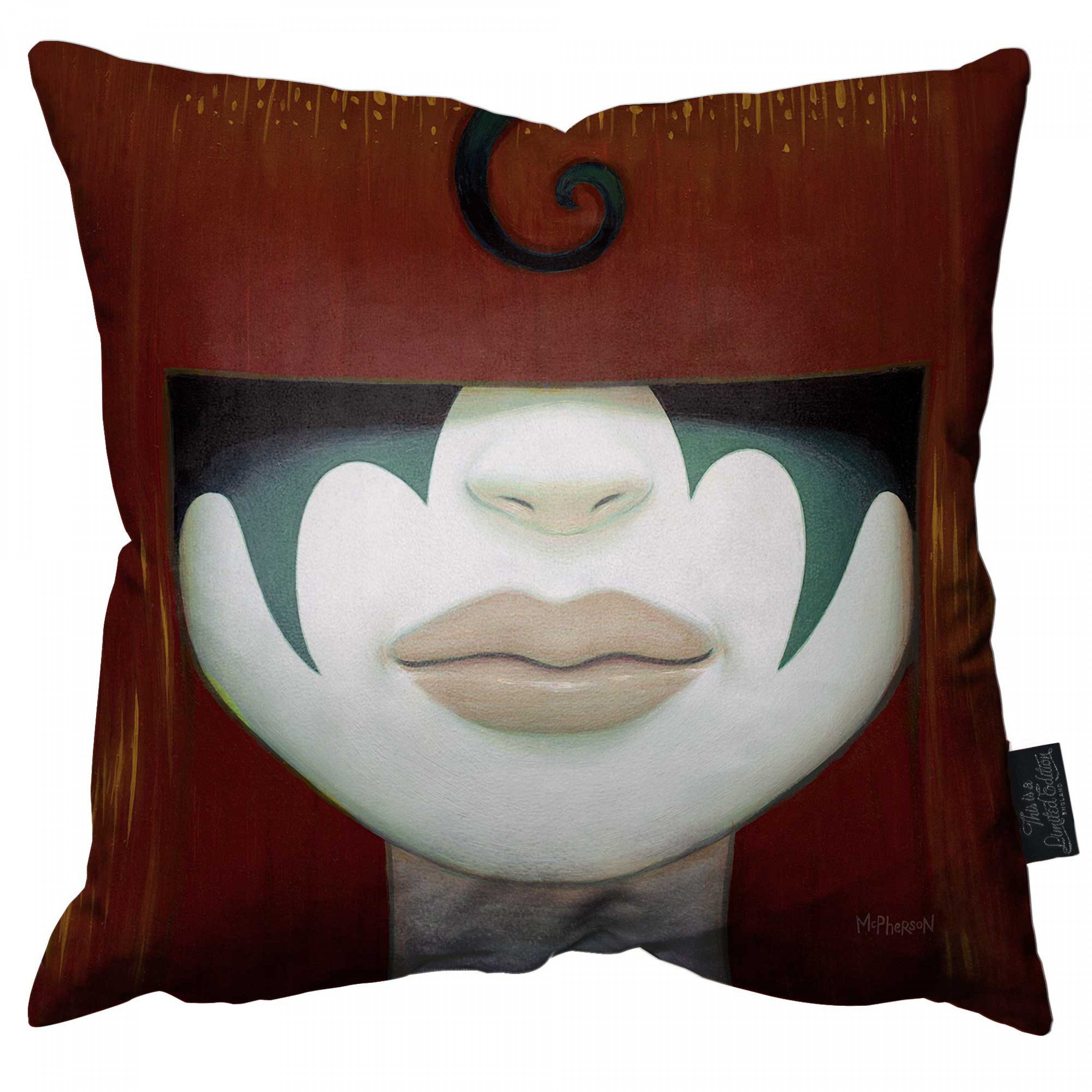 Kiss Bang Pillow